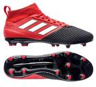 adidas Ace 17.3 Primeknit FG Men's Soccer Cleats Football Shoes Red/Black/W 1612