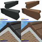 Manthorpe Dry Verge Left Right Hand Gable Apex Roof Tile Plastic End Cap