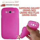 COVER CUSTODIA CASE GOMMA GEL SILICONE per SAMSUNG GALAXY GRAND NEO PLUS I9060I
