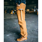 Rasco FR Mens Flame Resistant Brown Duck Carpenter pants NFPA 2112 HRC 2