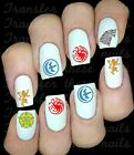 30 NAIL ART WATER TRANSFERS GAME OF THRONES STARK TARGARYEN TYRELL LANISTER