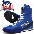 Lonsdale Quick Boxing Boots Navy/Blue Trainers Shoes Classic Sportswear