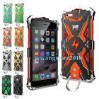 Thor Iron Metal /Gel Hybrid Rugged Back Case Bumper Cover for iPhone 6 /6S Plus