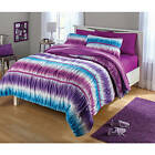 Cute Comforter Sets For Teen Girls Twin Ruched Tie Dye 2 Piece Reversible Beds