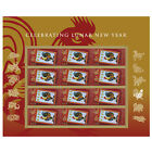 USPS New Lunar New Year Rooster Pane of 12 фото