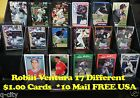 ROBIN VENTURA _ 17 Different $1.00 Cards _ Choose 1 or More * 10 Mail FREE USA