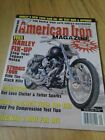 American Iron Magazine September 1998 {Free Harley Fix-Up}