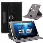 "Rotating Folio PU housing Cover For Universal Android Tablet PC 7"" 8"" 9"" 10""case"