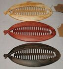 WOOD LOOK BANANA/FISH HAIR CLIP (5.5''L) SELECT COLOR SAVE on COMBINE SHIPPING!