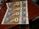 1985 WORLD SERIES FULL UNUSED TICKETS - GAME 1 - STANDING ROOM ONLY MINT COND