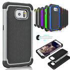 Armor Shockproof PC Rubber Hard Case Phone Cover For Samsung Galaxy S6 / S6 Edge