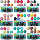 6x Nail Art Color Soak-off Polish Kit UV Glitter Gel Lamp Tips Decoration Set