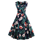Women's Print Party Prom Cocktail Swing Party Evening Large Peng Peng Long Dress