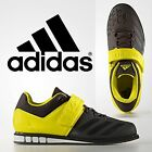 New 2017 Adidas Powerlift 3 Black Yellow Mens Weight Lifting Shoes Trainers