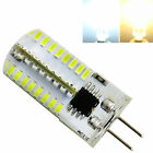 10pcs,G4 LED Bulb Dimmable 110V AC 3W 280 Lumen 64-3014 SMD Silicone Lamp White