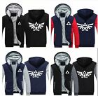 Game The Legend of Zelda Hoodie Zipper Coat Men Jacket Winter Jacket Sweatshirts
