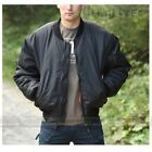Bomber Alpha MA1 MILTEC TEESAR Nylon 100% Flight Jacket REVERS Pilota Aviatore...