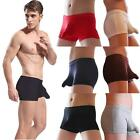 Men Boxer Briefs Underwear Trunks Shorts Bulge Pouch Underpants Classic
