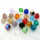 Lots 300-1000pcs Crystal Multicolor 4mm 6mm 8mm Bicone Diy Beads For Curtain Hot