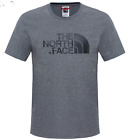 The North Face Mens Easy Tee  t-shirt Tee Shirt  (tnfmdgyhtrstd)  Grey