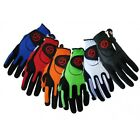 3 NEW Zero Friction Mens Golf Gloves One Size Fits All - Choose Hand & Color!!