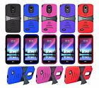 For LG Stylo 3 / Stylus 3 Heavy Duty Armor Hard Hybrid Stand Case Cover