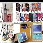 Leather Stand Flip Wallet Cover Phone Case For Samsung Galaxy S2 S3 S4 S5 S6 S7