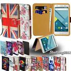 Folio Leather Stand Flip Card Wallet Cover Case For Various Mlais Smartphones