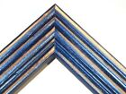 "1 3/8"" Beach Cobalt Blue Weathered DistresSolid Wood Picture Frames-Standard"