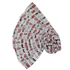 London Bus & Taxi Cab Print Large Scarf / Wrap Souviener Gift