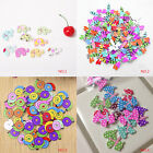 50pcs/Pack New Snail Pattern Print Button Two Holes Buttons for Sewing