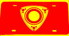 """ROTARY ENGINE LOGO 12""""W x 6""""H License Plate  Buy 2 get 1 free"""