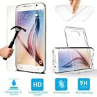 Clear Gel Case & Tempered Glass Screen Protector for Samsung Galaxy A5 2016 A510
