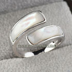 A1-R227 Fashion Simulated Opal Ring 18KGP Size 5.5