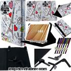 """Folio Stand Leather Cover Case For Various Cube 7"""" 8"""" 10"""" Models Tablet+ STYLUS"""