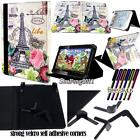 New Folio Stand Leather Cover Case For Various FUSION5 8* 10* Tablet + STYLUS