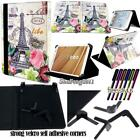 Folio Stand Leather Cover Case For Various HANNSPREE HANNSpad Tablet + STYLUS