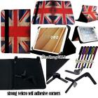 Folio Stand Leather Cover Case For Tesco - Hudl 1/2 - Connect 7/8/9/10 Tablets