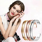 HAIR TIE RUBBER BAND HOLDER BANGLE BRACELET CUFF GOLD SILVER ROSE GOLD GIFTS CH