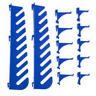 11 Or 12 Assorted Tool Hook Set For Louvre Panel Tool Rack