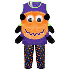 Boys Halloween Fancy Dress Costume Kids Children Pumpkin Eye Outfit Age 1-4 Year