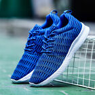 Mens Big Size Running Shoes Breathable Sneaker Non Slip Light Casual Sport Shoes