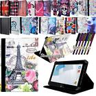 Folio Stand Leather Cover Case For Various HP 7 8 10 Models Tablet + STYLUS