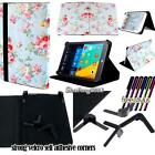 Folio Stand Leather Cover Case For Various 7* 8* 9* 10* VIDO Tablets + STYLUS