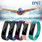 Waterproof Smart Wristband Sleep Monitor Health Sports Fitness Tracker Watch