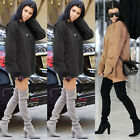 US Seller Fashion Women Oversized Hoodie Jumper Pullover Sweatshirt Top Shirt