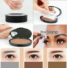 Einfache Synophrys Augenbraue Pulver Stempel Eyebrow Palette Puder Pinsel Makeup