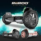 "RiiRoo Off Road Hoverboard Self Balancing Scooter  All-Terrain 8.5"" Alloy Wheel"