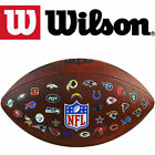 "Wilson Official NFL 32 Team Logos ""Throwback"" American Football Gridiron Ball"