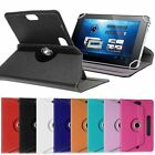 """PU Leather 360° Folio Leather Case Cover For Universal Android Tablet PC 7""""-10"""""""